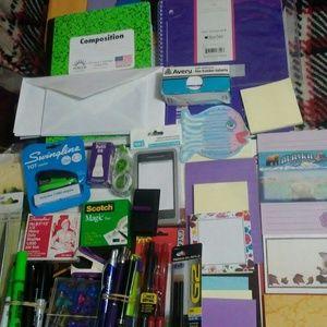 Huge bundle of school/office supplies